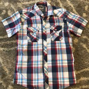 BKE Men's Small Plaid Shirt